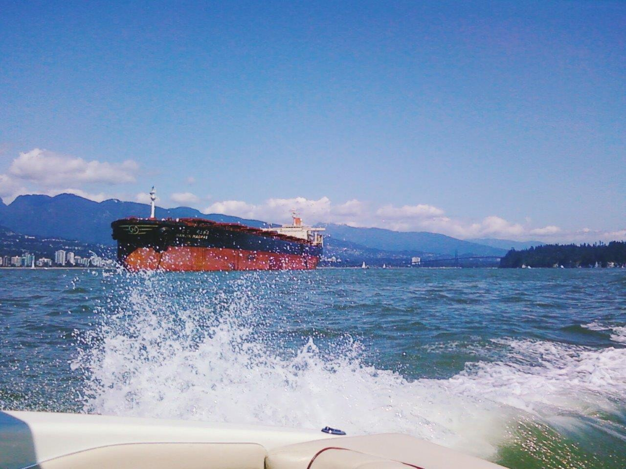 Boating on Vancouver Harbour