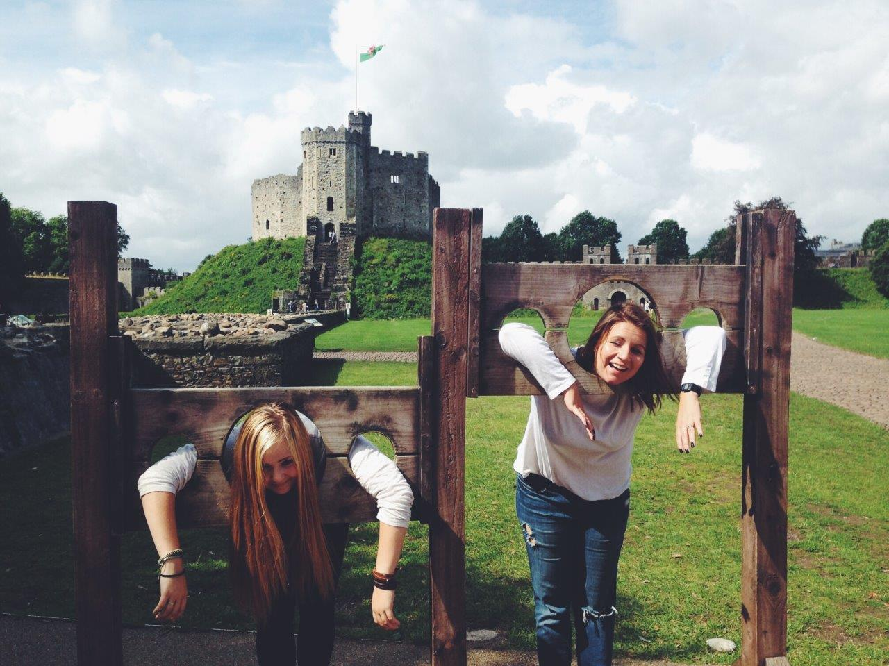 Visiting Cardiff Castle