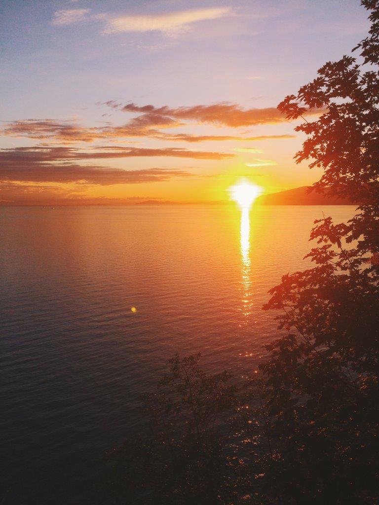 jana meerman ubc sunset