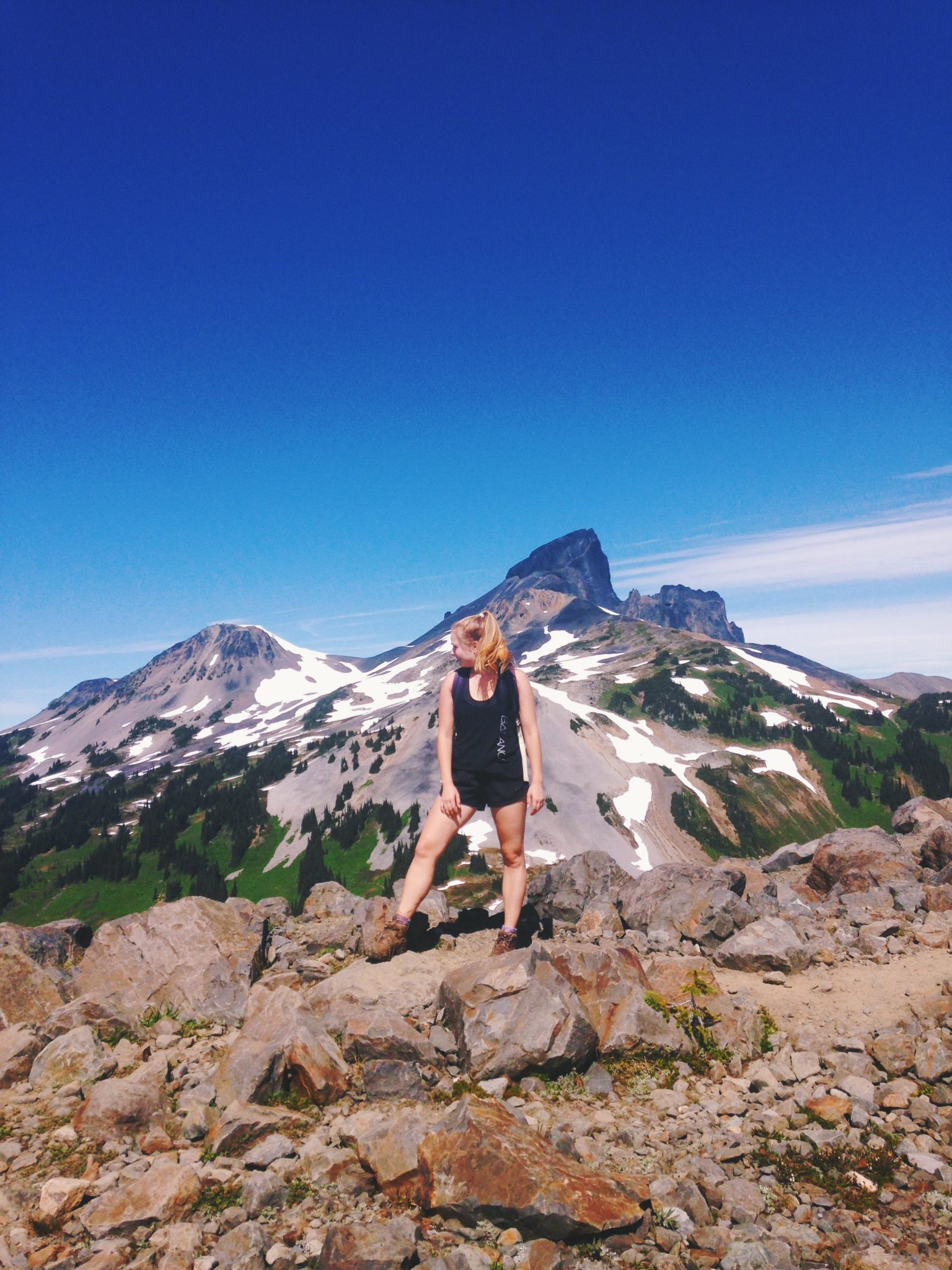 jana meerman panorama ridge hike