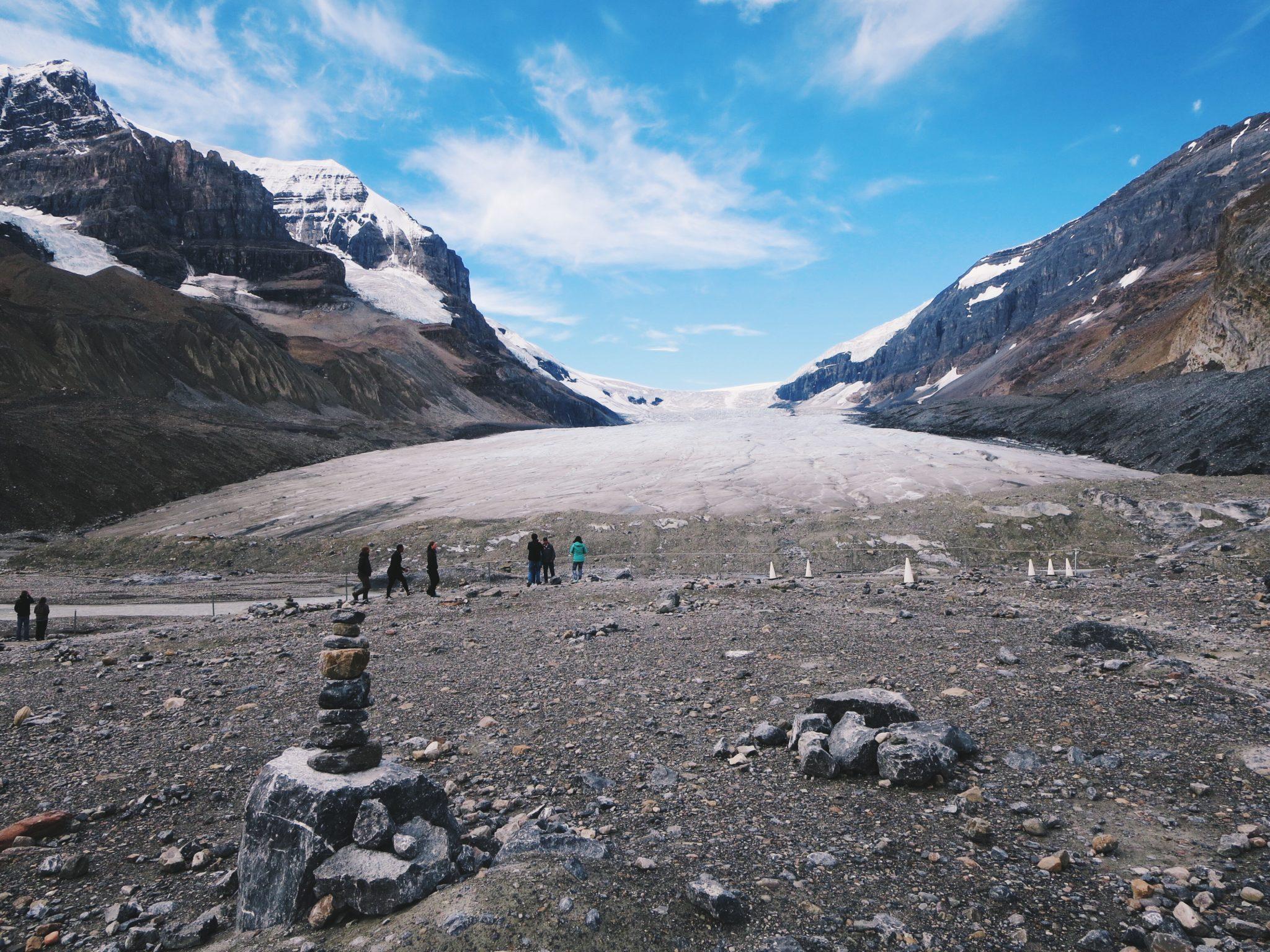 jana meerman columbia icefield athabasca glacier