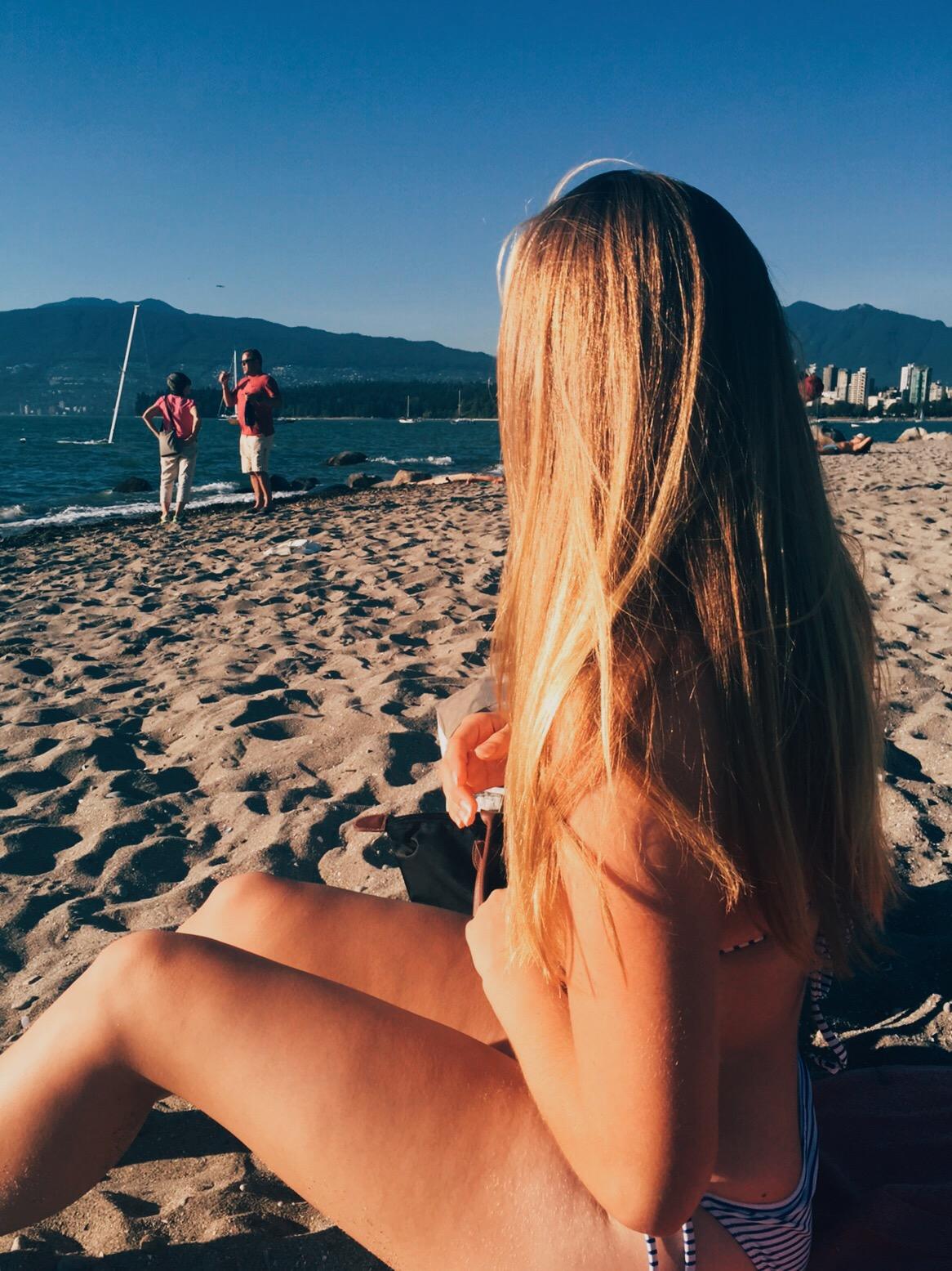 jana meerman kitsilano beach
