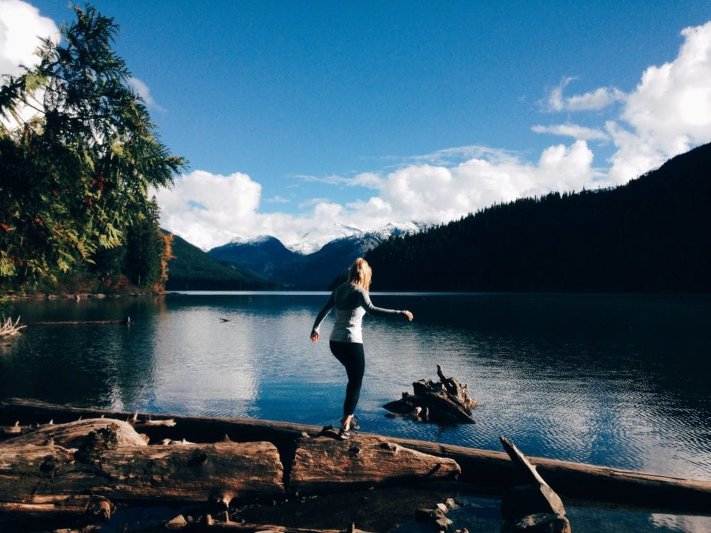jana meerman cheakamus lake