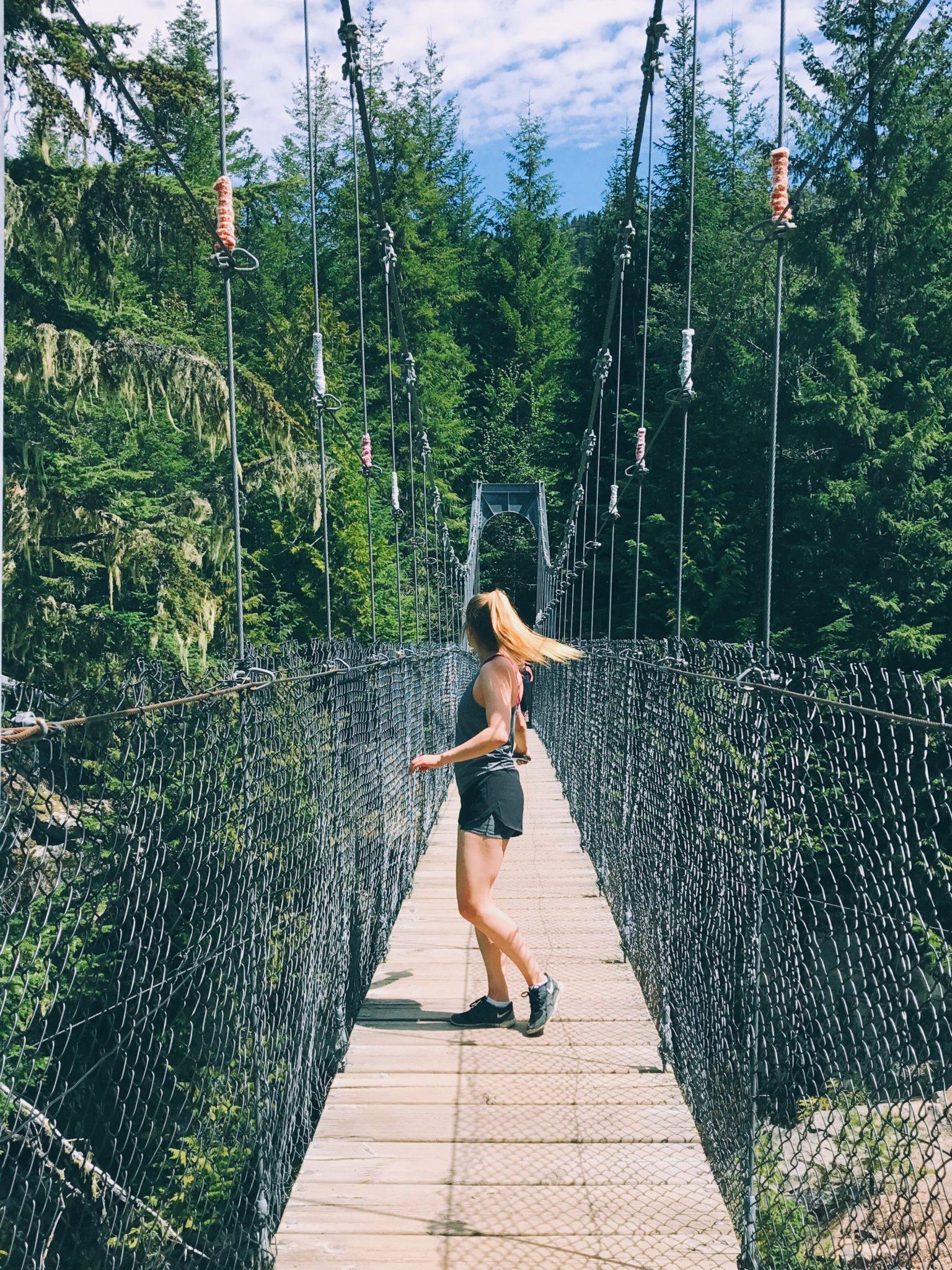 jana meerman loggers lake hike