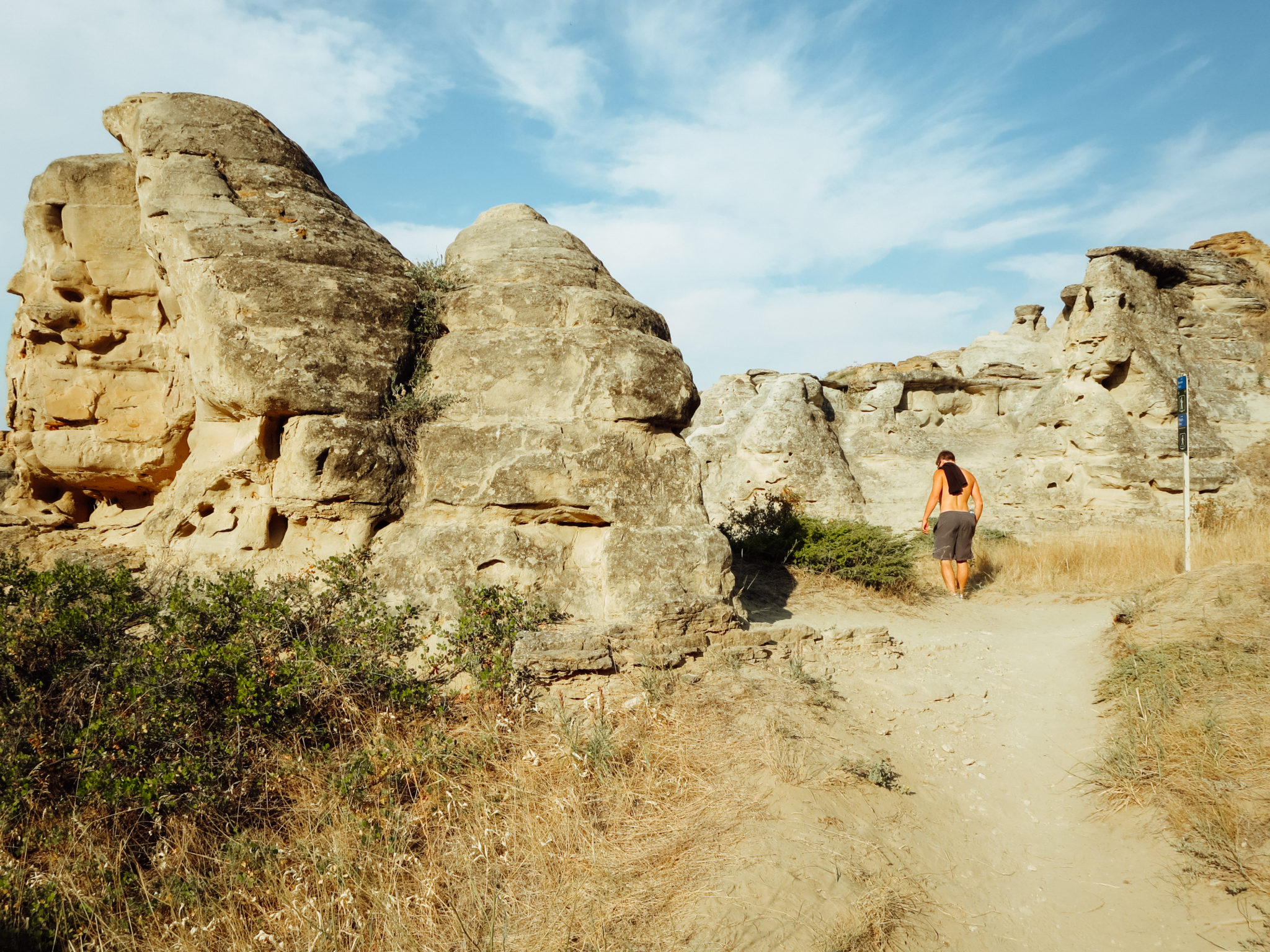 jana meerman writing-on-stone provincial park-11