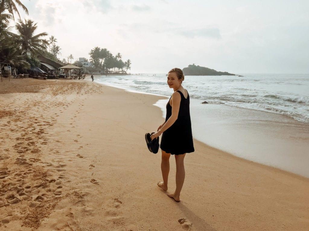 The Beach Town of Mirissa