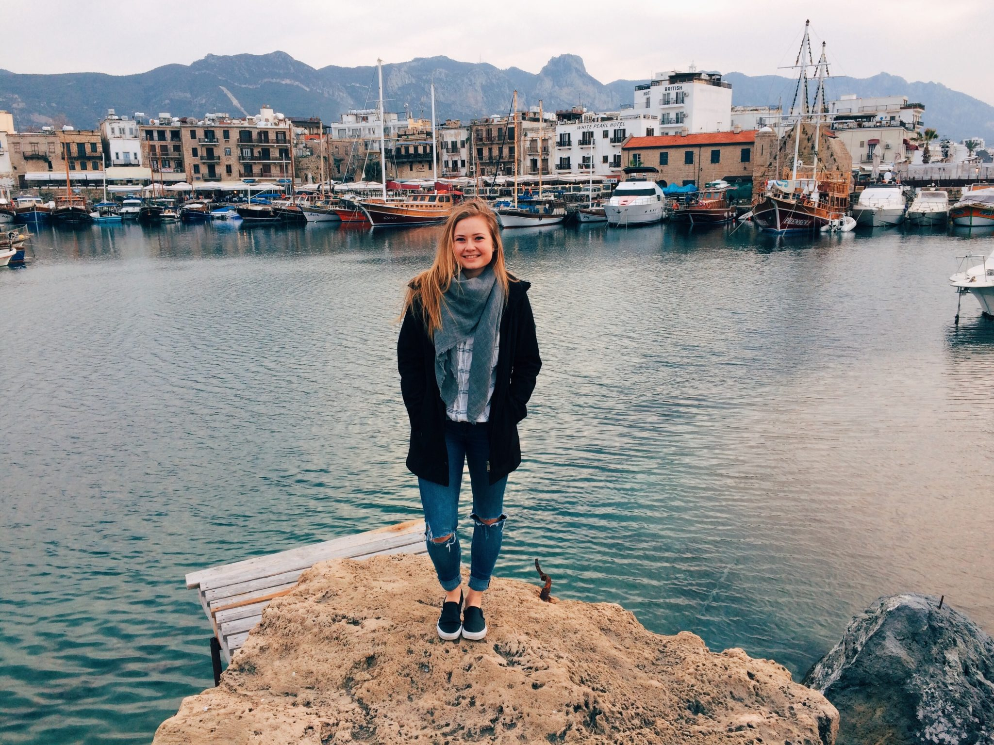 jana meerman kyrenia harbour turkey