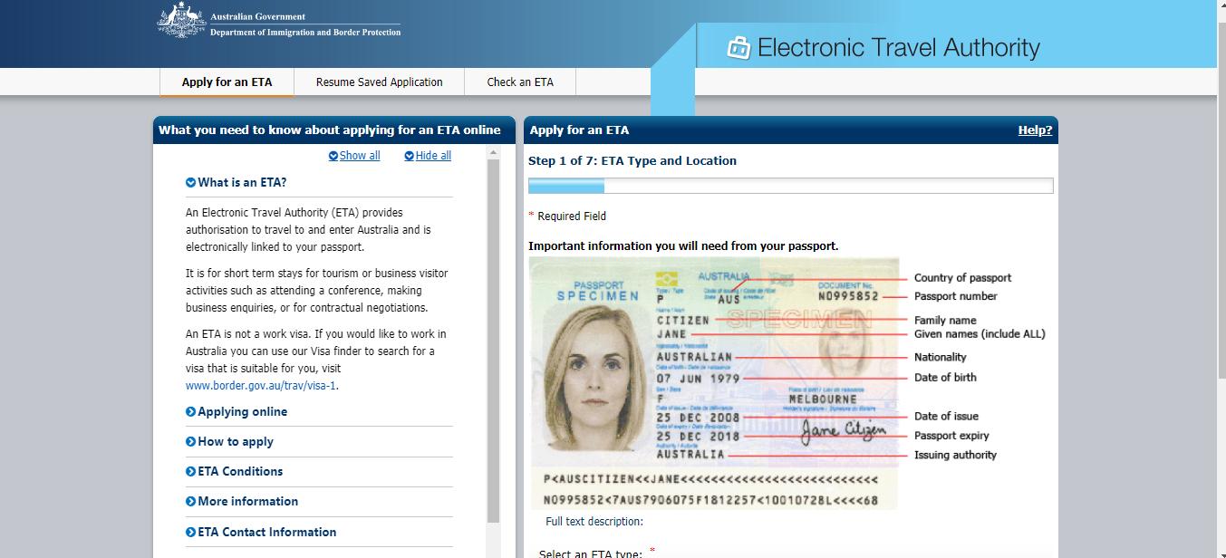 jana meerman australia visa