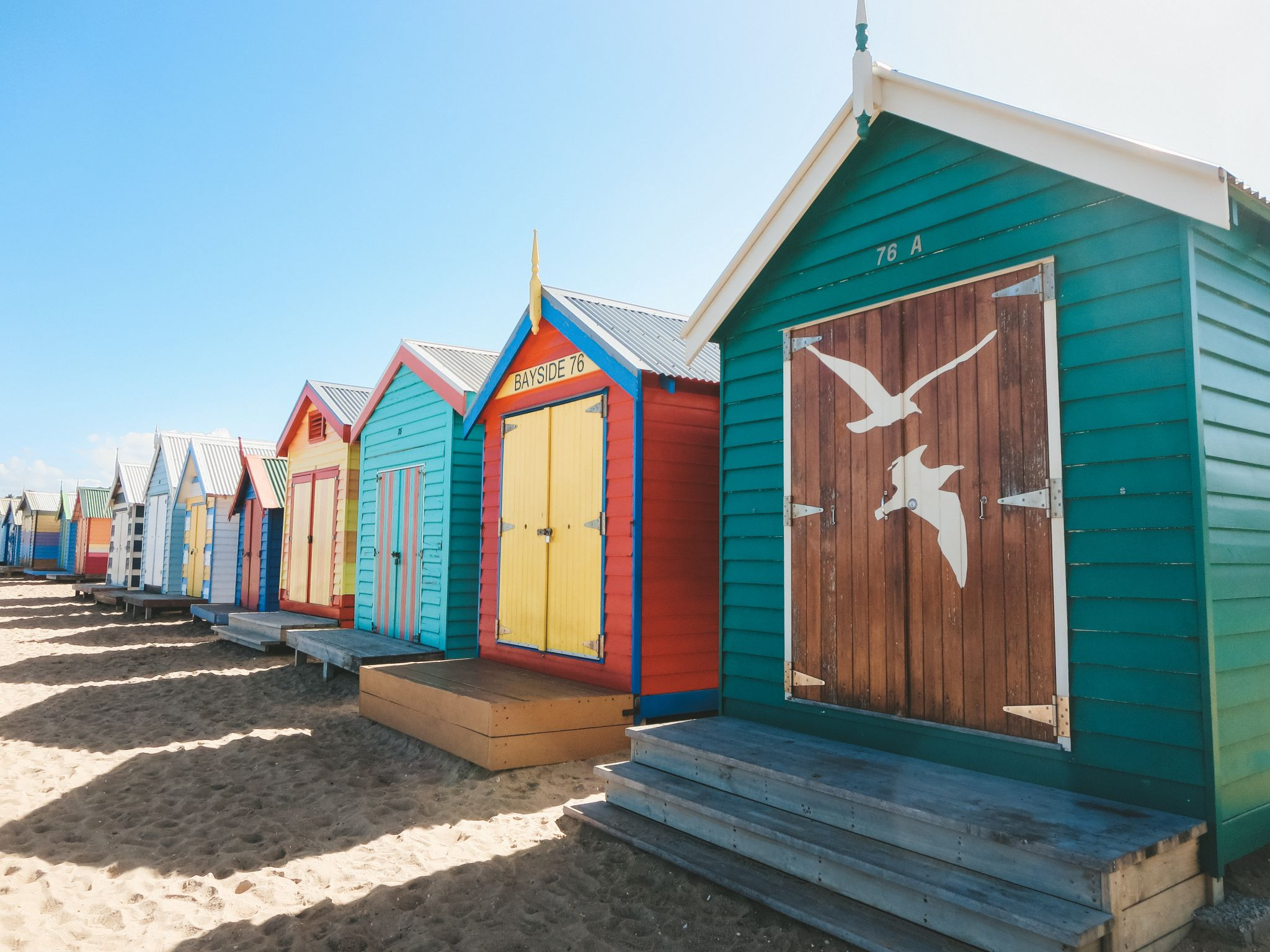 jana meerman brighton beach bathing boxes melbourne