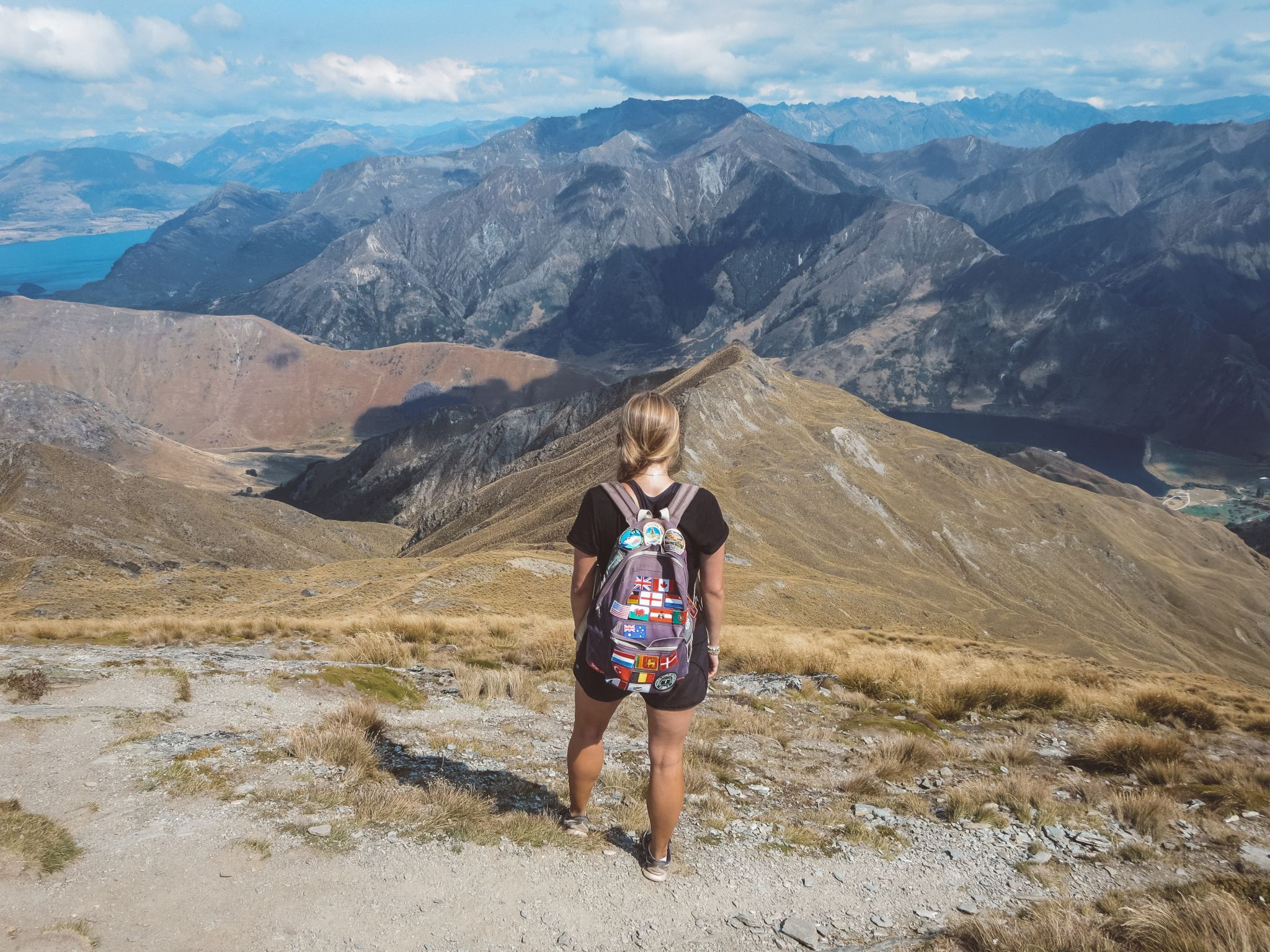 jana meerman ben lomond summit hike