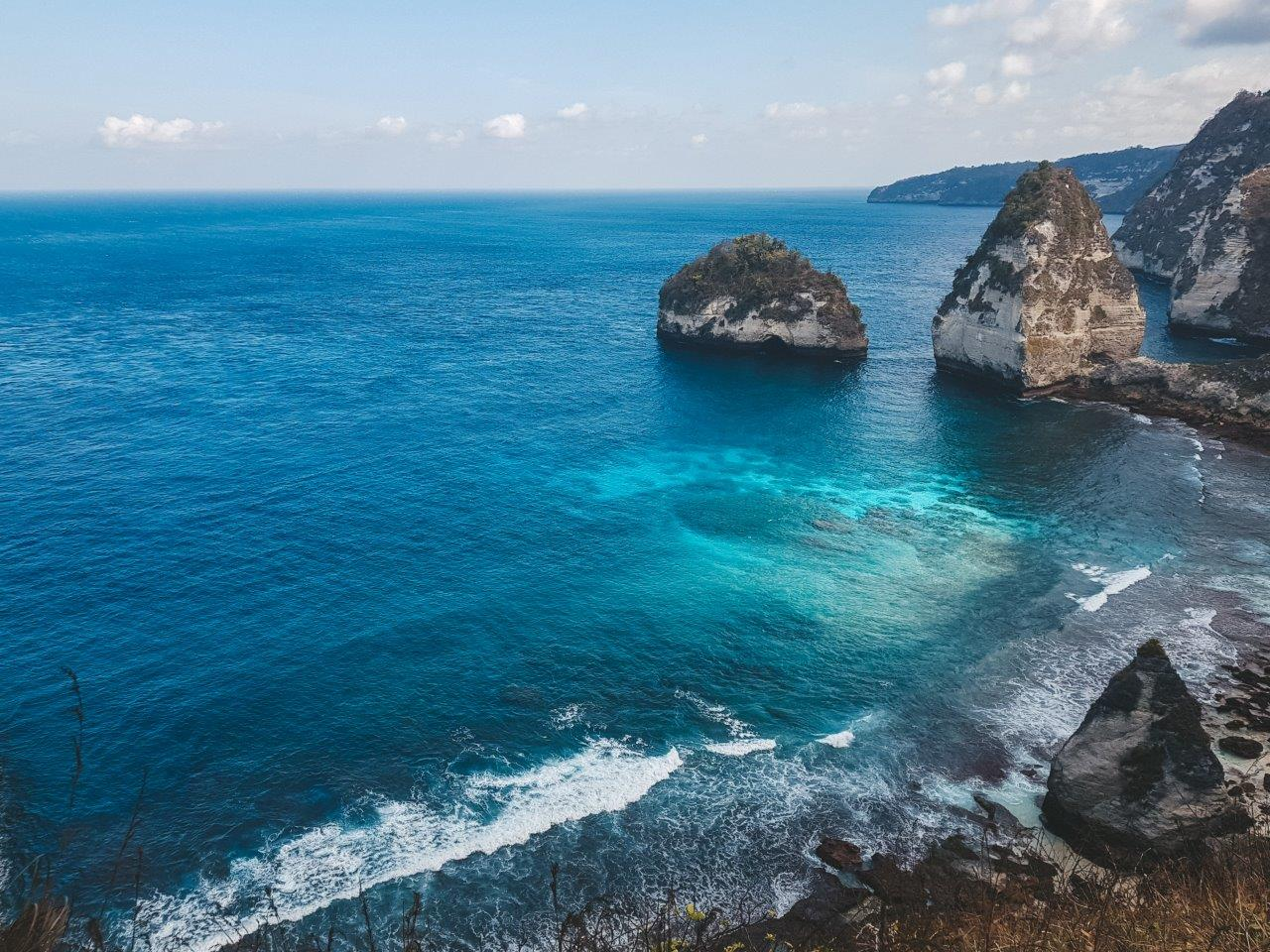 jana meerman diamond beach nusa penida