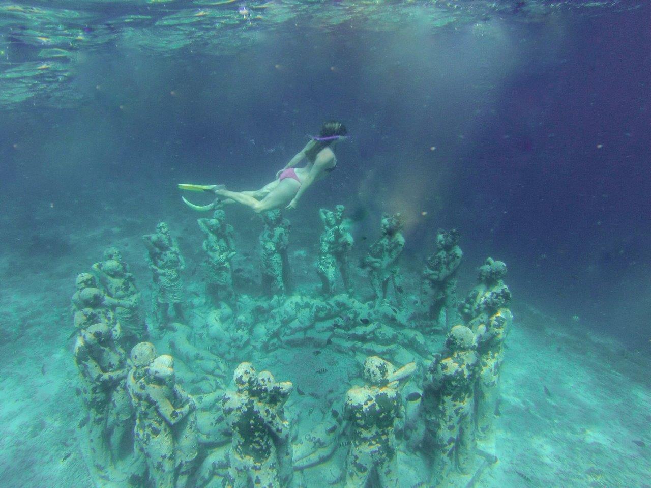 Snorkeling the Gili Islands