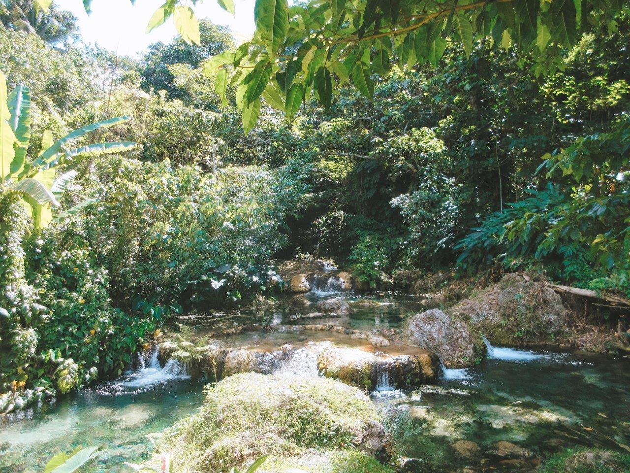 Visiting Mele Cascades