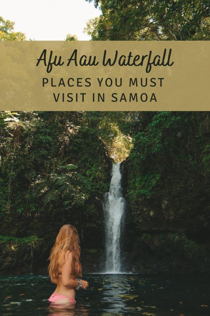 Pinterest - Afu Aau Waterfall