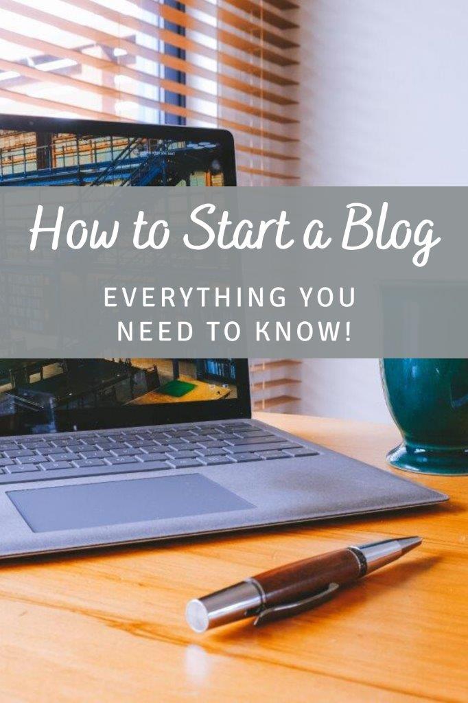 Pinterest - how to start a blog 2