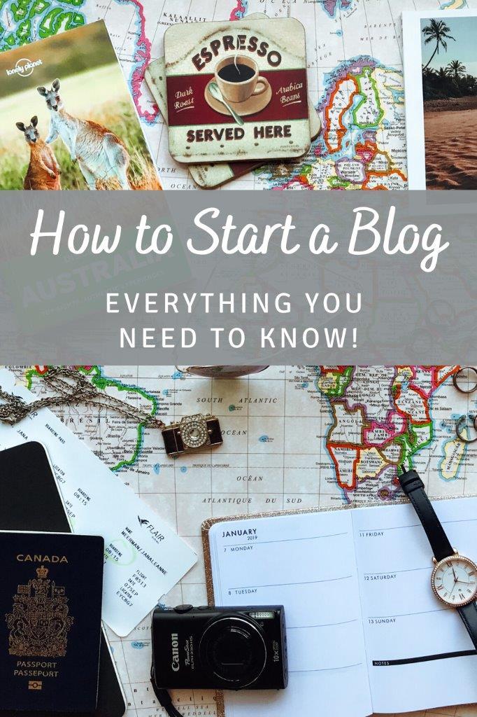 Pinterest - how to start a blog