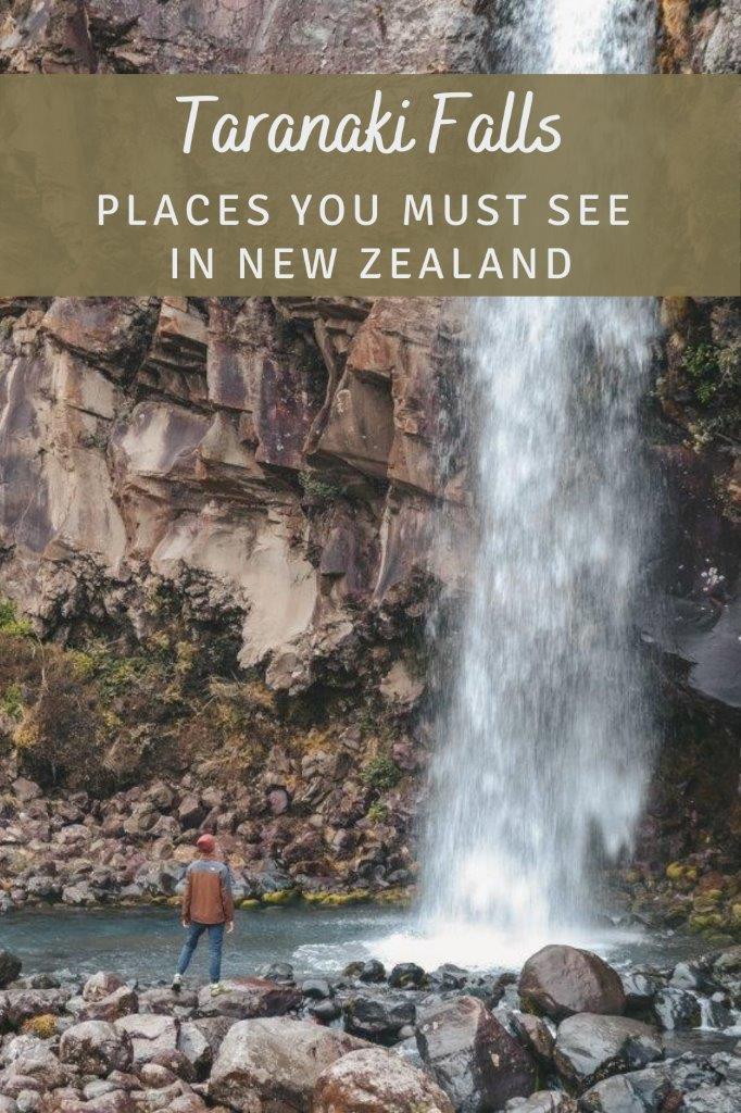 Pinterest - Taranaki Falls