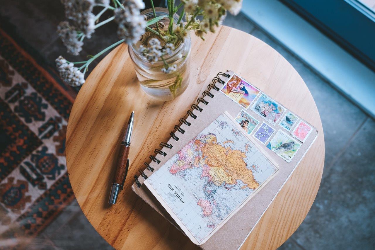 jana meerman notebook flatlay