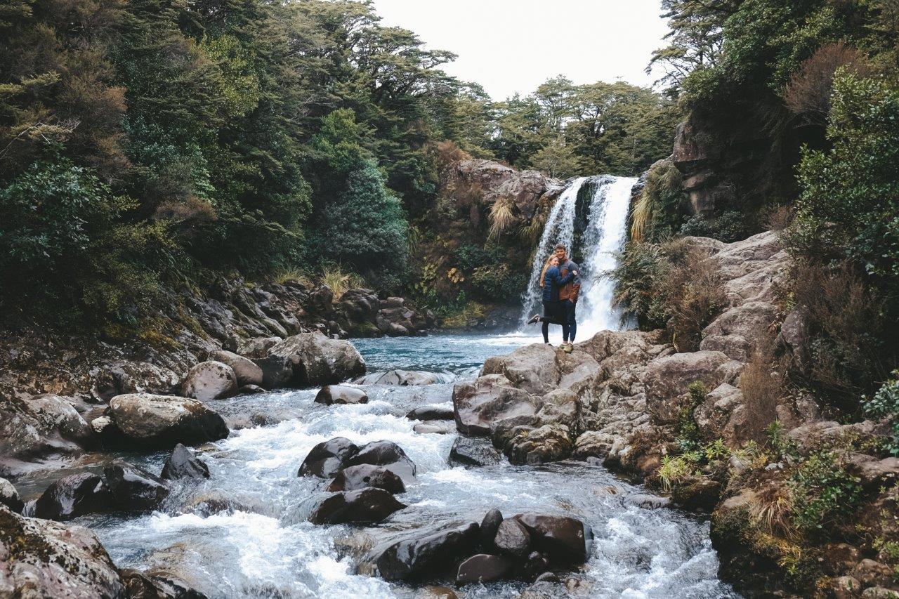 Visiting Tawhai Falls / Gollum's Pool