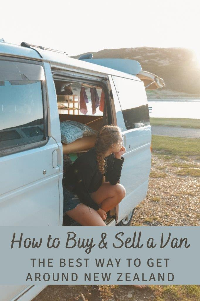 Pinterest - how to buy & sell a van in NZ 2