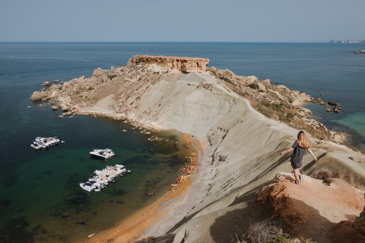 The Prettiest Beach in Malta